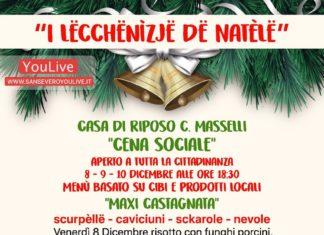 Casa di Riposo C.Masselli/Cena Sociale